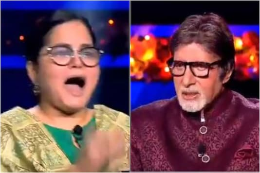 Kaun Banega Crorepati 12 Gets its First Crorepati in Nazia Nasim, Watch Amitabh Bachchan's Reaction