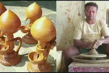 Chhattisgarh Potter Flooded with Orders for Designing Diya That Burns for 24 Hours ahead of Diwali