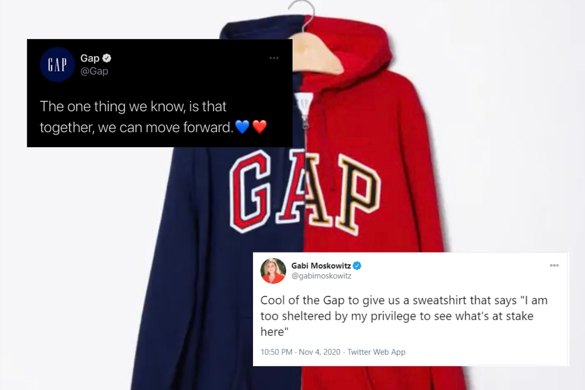Gap Tried to Debut a 'Unity' Hoodie For US Elections, But Absolutely Zero People Wanted to Buy It