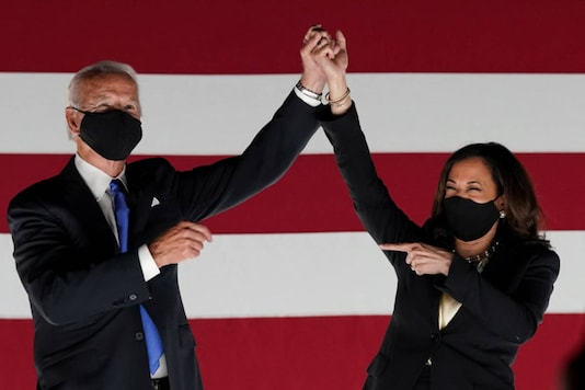 File photo of President-elect Joe Biden and Vice President-elect Kamala Harris (Reuters)