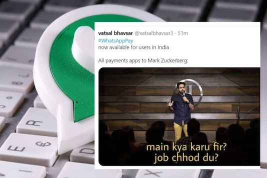 Whatsapp Pay jokes flooded the Twitter.