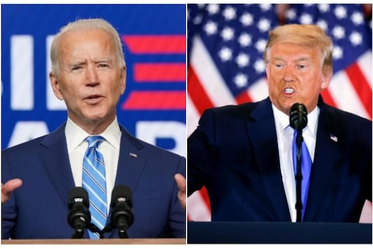 Joe Biden and former U.S. President Donald Trump.  (Reuters)