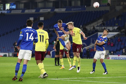 Brighton & Hove Albion and Burnley (Photo Credit: Twitter)