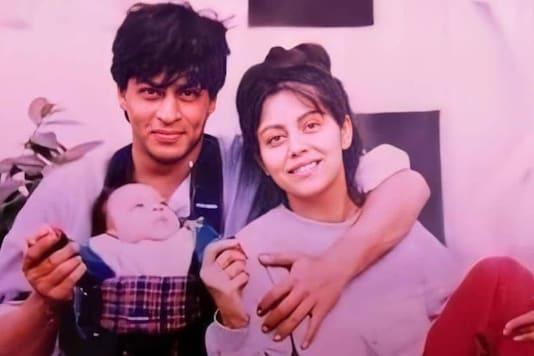 Shah Rukh Khan and Gauri Khan (Image credit- Instagram)