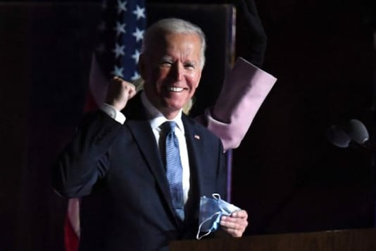 A file photo of Joe Biden, now elected as the 46th US president. (AFP)