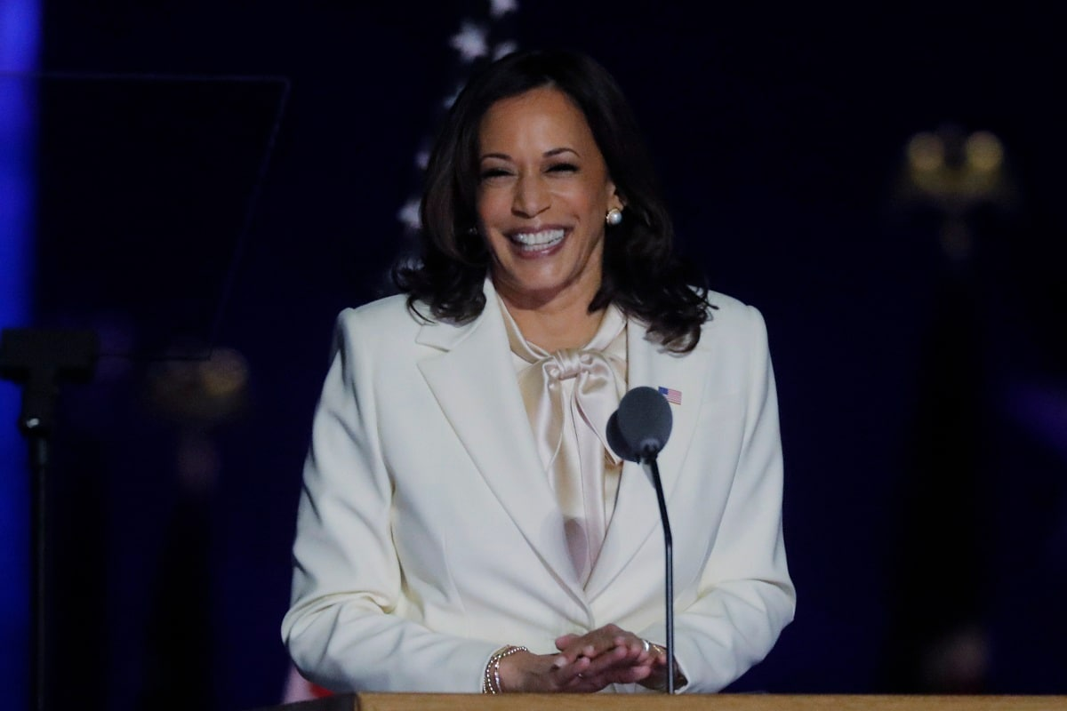 First Woman In This Office Won T Be Last Kamala Harris Emotional Note After Historic Win Recalls Mom