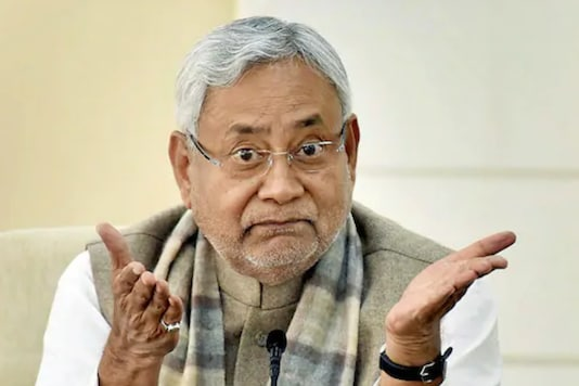 File photo of Bihar Chief Minister Nitish Kumar. (PTI)