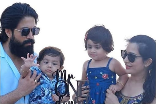 Yash with family