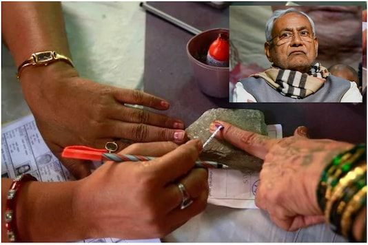 Nitish Kumar is relying on women voters in Bihar to see him through to another victory in the Legislative Assembly   Image credit: Reuters/PTI