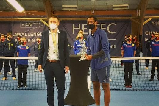 Ramkumar Ramanathan (Photo Credit: Indian Tennis Daily Instagram)
