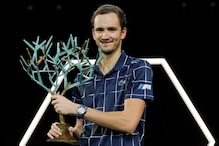 Daniil Medvedev Overcomes Alexander Zverev to Win His 1st Paris Masters Title