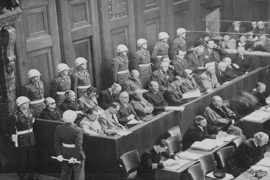 A view of the defendents' dock during the Nuremberg Trials in Nuremberg, Germany, 1945-6. (Image for representation/ REUTERS)