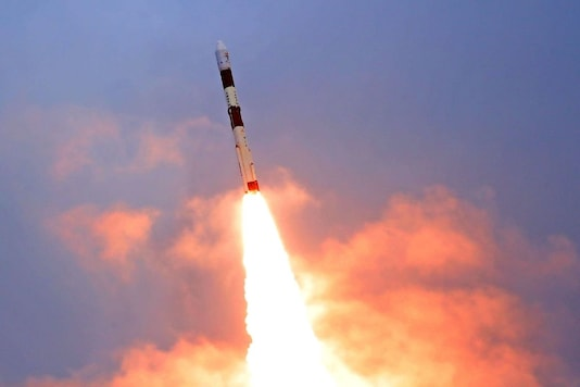 The PSLV-C49 launch comes as ISRO's first mission in 2020.  (Image Credit: ISRO)