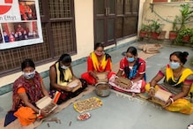 'How to Celebrate Diwali?' Hisar Women Impacted by Job Losses Due to Covid-19 are Making Diyas