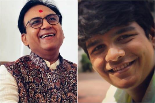 Dilip Joshi (L), Bhavya Gandhi