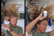 Watch: This How Astronauts Wash Their Hair with Shampoo in Space