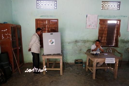 Voting booth representational image. (Photo Credit: Reuters)
