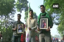 Bihar Election: Tejashwi Yadav's Supporters Crowd His Residence Ahead of Poll Results