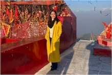 Yami Gautam Feels Blissed Out at Pohlani Mata Temple in Dalhousie, See Pic