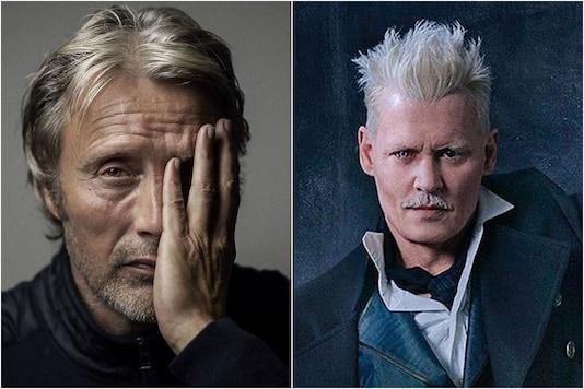 Mads Mikkelsen and Johnny Depp
