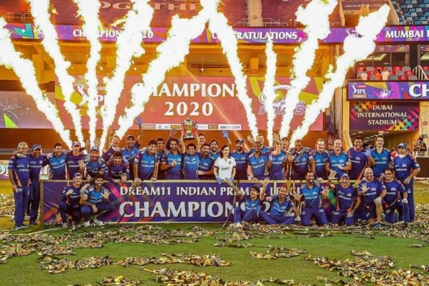 IPL 2020: Mumbai Indians Celebrate Their Record Fifth IPL Title Victory; See Pics