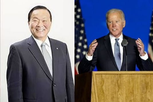 File photo of Biden. Photo of'Jo Baiden': Twitter