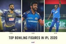 IPL 2020: Top 10 Bowling Figures This Season – Varun Chakravarthy Tops the List