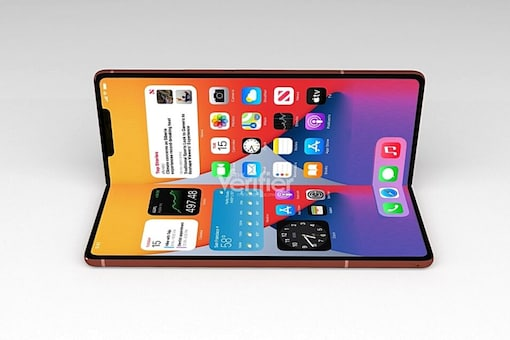 Foldable iPhone render. Image used for representation. (Image source: The Verifier)
