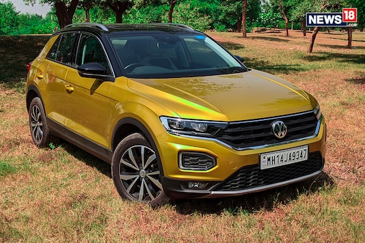 The Volkswagen T-Roc has been a runaway success for the German automaker in India with the entire lot of allotted units being already sold out in the country. The Volkswagen T-Roc comes to our shores as a Completely Built-up Unit (CBU) import and interestingly, Volkswagen has not made any change to the SUV as compared to the European model. So here, we take a closer look at the Volkswagen T-Roc's design, features, practicality, space and comfort. (Photo: Manav Sinha/News18.com)