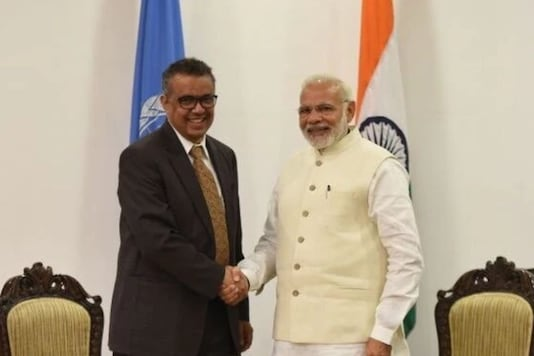 WHO Director General Tedros Adhanom Ghebreyesus said India has an important role to play in global health issues.