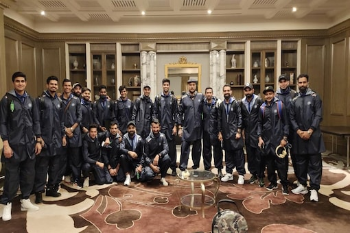 Indian cricketers before leaving for Australia (Photo: BCCI/Twitter)