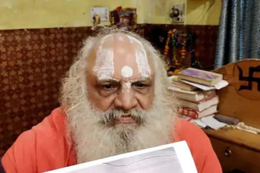 Prominent seer, Mahant Dharmadas of Ayodhya Nirvani Akhara