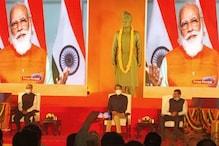 PM Modi Unveils Swami Vivekananda's Life-Size Statue on JNU Campus
