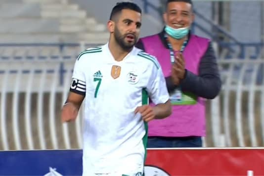 Algeria's Riyad Mahrez (Photo Credit: Twitter)