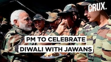 PM Narendra Modi To Celebrate Diwali With Soldiers At Western Border | CRUX