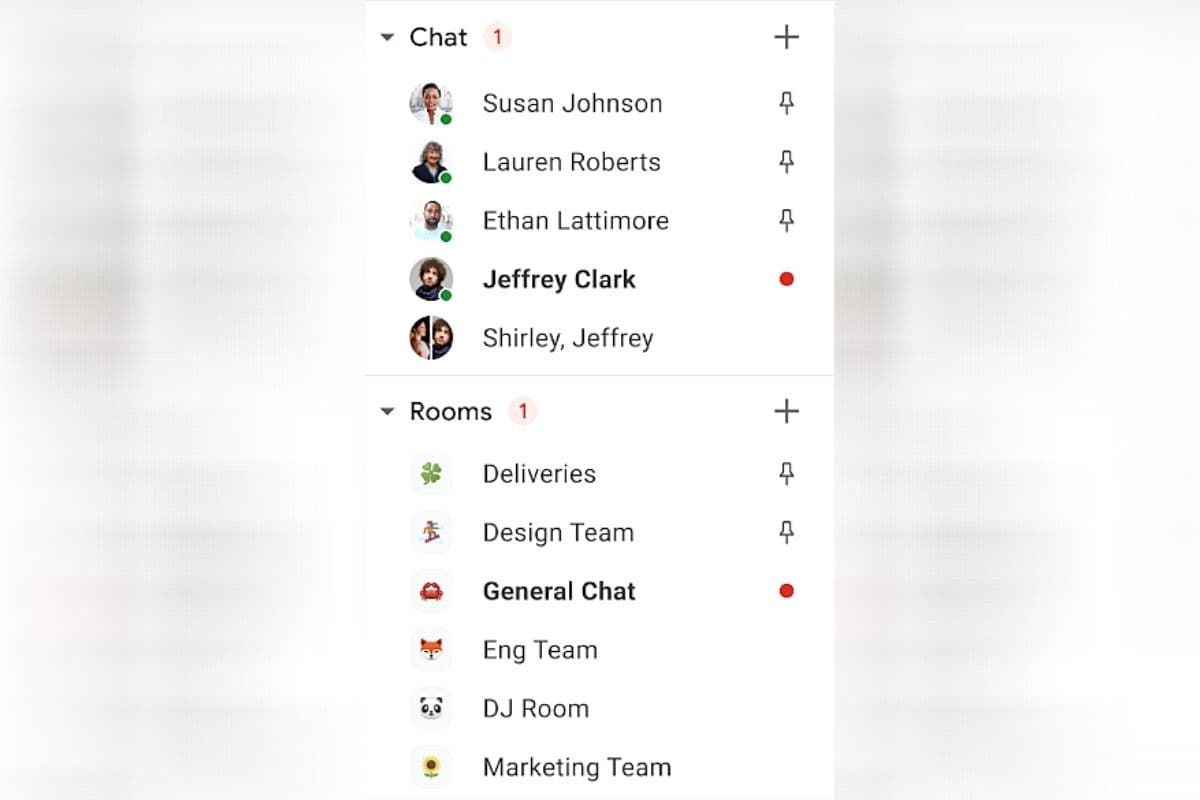 Gmail Users on Workspace and Enterprise Plans Can Now Pin Conversations on Chat Tab for Quick Access