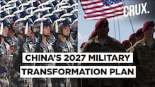 How China Plans To Catch Up With US' Military By 2027