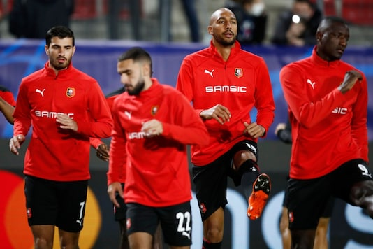Stade Rennes is one of the clubs fined by UEFA. (Photo Credit: Reuters)