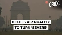 Delhi's Air Quality To Turn 'Severe' Tonight