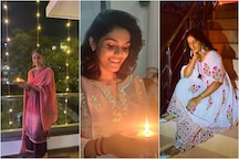Manika Batra, Aditi Chauhan and Vinesh Phogat Look Radiant in Diwali Pictures