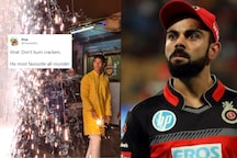 Virat Kohli Trolled After Photos of RCB's Shivam Dube Celebrating Diwali With Firecrackers Go Viral