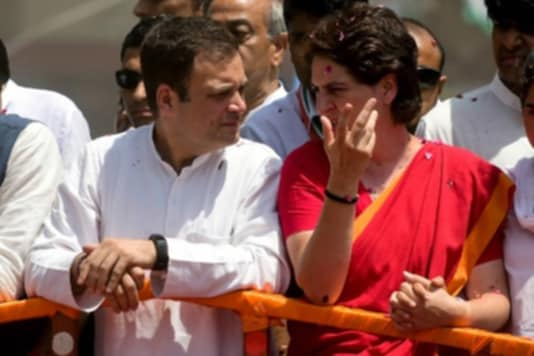 File photo of Congress leaders Rahul Gandhi and Priyanka Gandhi. (AFP)
