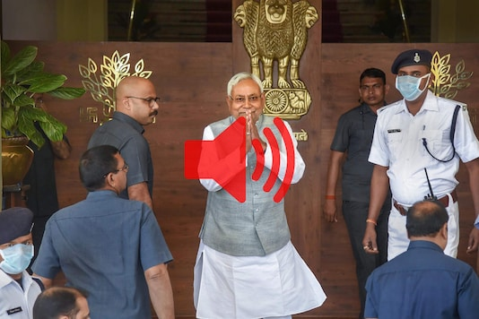 JD(U) leader Nitish Kumar will take oath as Bihar CM for the fourth consecutive term on Monday. (File photo/PTI)