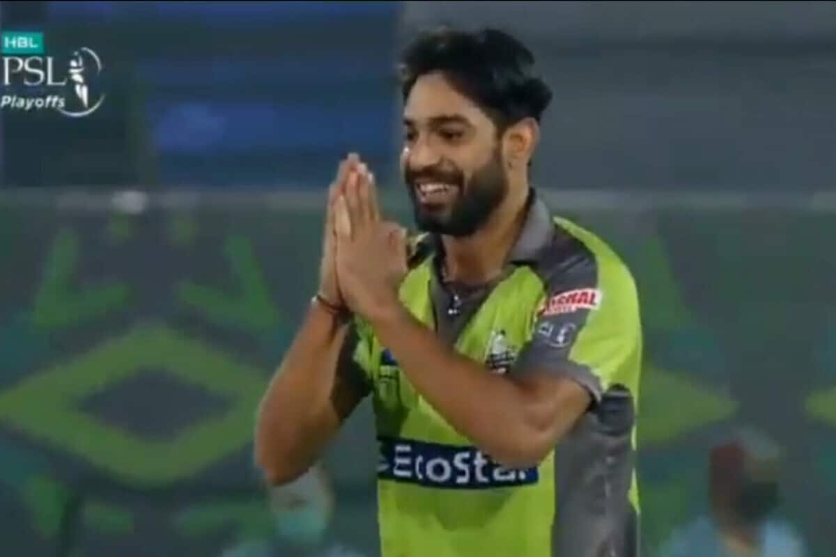 PSL 2020: WATCH - Haris Rauf Apologises to Shahid Afridi After Dismissing Him for a First-Ball Duck