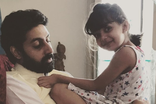 Abhishek Bachchan's Candid Picture with Birthday Girl Aaradhya is Winning Hearts