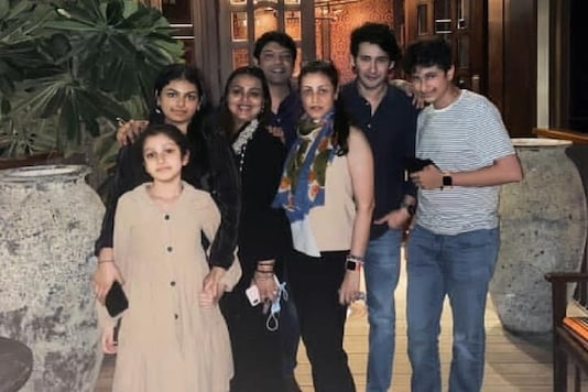 Namrata Shirodkar Shares 'No Mask' Picture with Mahesh Babu and Family During Diwali Outing