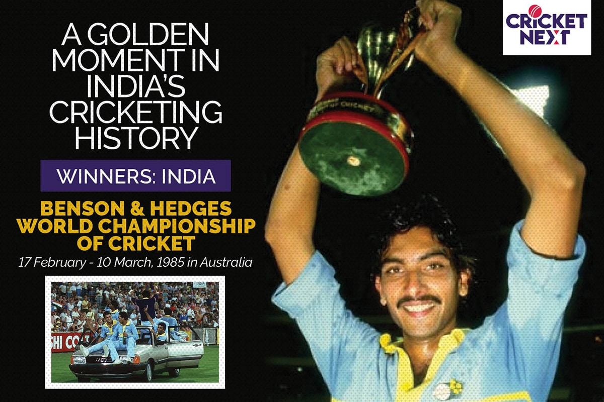 India vs Australia: 10 Numbers That Define India's Historic 1985 World Championship Triumph Down Under