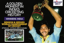 10 Numbers That Define India's Historic 1985 World Championship Triumph in Australia