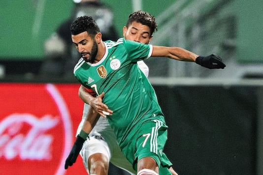 Algeria's Riyad Mahrez (Photo Credit: Mahrez Twitter)