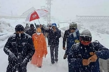 Uttar Pradesh CM Yogi Adityanath Visits Badrinath Dham, Offers Prayers